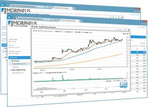 Screenshot of Morpheus Stock Scans