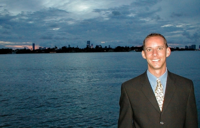 Deron Wagner in Miami - 2002