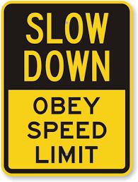 speed limit trendlines